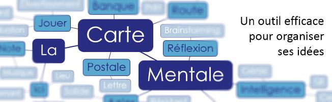 Carte mentale - Un outil pour organiser ses idées